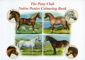 The Pony Club Colouring Book